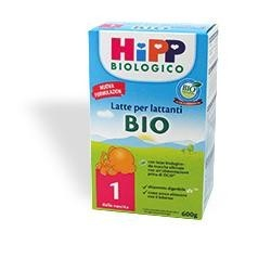 HIPP BIO 1 LATTE POLVERE BAMBINI 600G