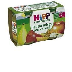HIPP BIOLOGICO OMOGENEIZZATO FRUTTA CEREALI 125 G 2 PEZZI
