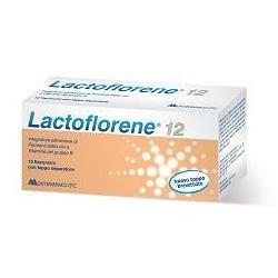 Lactoflorene Plus 12 Flaconcini - Integratore di Fermenti Lattici Vivi
