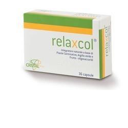 Relaxcol 36 Compresse - Integratore Contro il Gonfiore Addominale