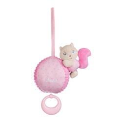 Chicco Carillon Soft Cuddles Rosa Idea Regalo per Bambini da 0 Mesi