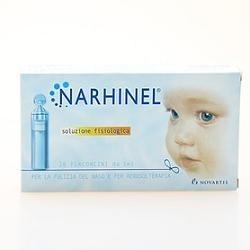 Narhinel Soluzione Fisiologica per l'Igiene Nasale dei Bambini 20 Fiale