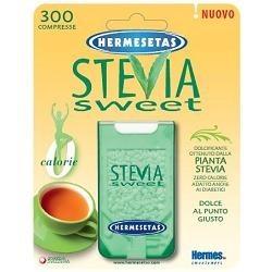 SteviaSweet Hermesetas Dolcificante a Base di Stevia 300 Compresse