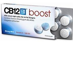 CB12 Boost 10 Chewing-Gum per la Prevenzione dell'Alito Cattivo
