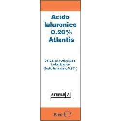 ACIDO IALURONICO 0,20% SOL OFT