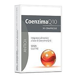 Coenzima Q10 30 Compresse - Integratore ad Azione Anti-età