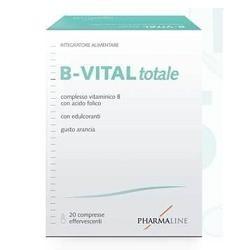 B-Vital Totale 20 Compresse Effervescenti - Integratore di Vitamine B