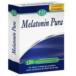 Melatonin Pura 120 Microtavolette - Integratore per i Disturbi del Sonno