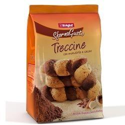 Biaglut Treccine Con Mandorle e Cacao Biscotti Senza Glutine 200 g