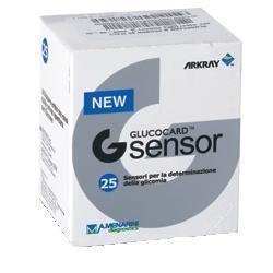 Glucocard G Sensor 25 Strisce Reattive Glicemia