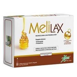 MeliLax Adulti Microclismi 6 Pezzi - Lassativo Lenitivo per Adulti
