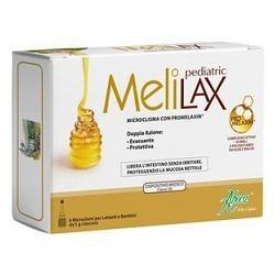 MeliLax Pediatric Microclismi 6 Pezzi - Lassativo per Bambini