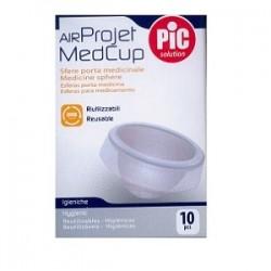 PIC Air Project MedCup 10 pezzi - Sfere porta medicinale per aerosol