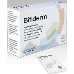 Bifiderm 21 Bustine - Integratore Probiotico per Dermatite Atopica