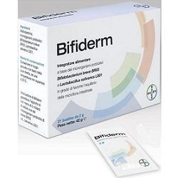 Bifiderm 21 Bustine - Integratore Probiotico per Dermatite