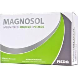 Magnosol 20 Bustine Effervescenti - Integratore di Magnesio e Potassio