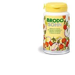 Brodosohn Preparato per Brodo a Basso Contenuto di Grassi e Sodio 200g