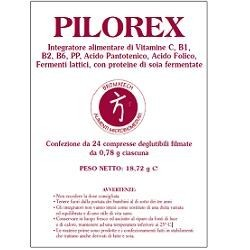 Pilorex 24 Compresse Fermenti Lattici Per Reflusso e Bruciore di Stomaco