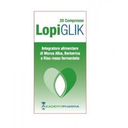 LopiGLIK 20 Compresse - Integratore per il Colesterolo e la Circolazione