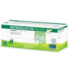 Enterolactis 12 Flaconcini - Integratore Probiotico di Fermenti Lattici Vivi