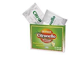 Citronello 30 Cerotti anti-zanzare per adulti e bambini in 2 formati