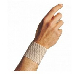 Dr. Gibaud Polsino a righe beige per traumi e sforzi - cm 6 taglia 1