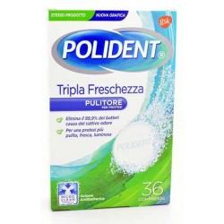 POLIDENT TRIPLA FRESCHEZ 36CPR