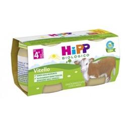 HIPP BIOLOGICO OMOGENEIZZATO VITELLO 80 G 2 PEZZI