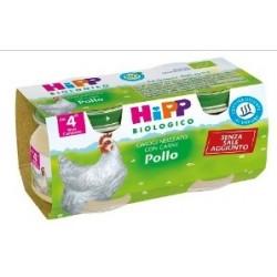 HIPP BIOLOGICO OMOGENEIZZATO POLLO 80 G 2 PEZZI