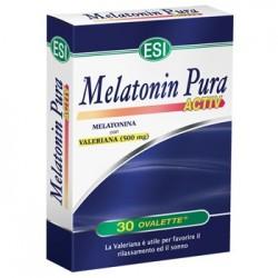 Melatonin Pura Activ 30 Ovalette - Integratore Per Il Sonno Con Valeriana