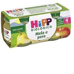 HIPP BIOLOGICO OMOGENEIZZATO MELA PERA 80 G 2 PEZZI