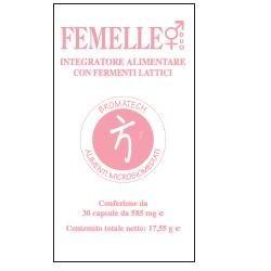 Femelle 30 Capsule - Fermenti Lattici per l'Intestino e la Mucosa Genitale