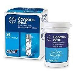 Contour Next 25 strisce reattive per la misurazione della glicemia