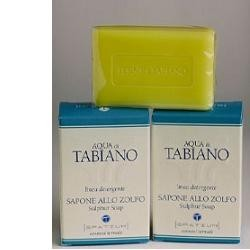 Aqua di Tabiano sapone allo zolfo per pelli impure e piaghe 100 g