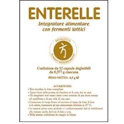 Enterelle 12 Capsule - Fermenti Lattici per Disturbi Intestinali