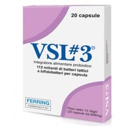 VSL3 20 Capsule - Integratore Alimentare di Fermenti Lattici Vivi