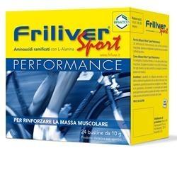 Friliver Sport Performance 24 Bustine Integratore di Aminoacidi Ramificati