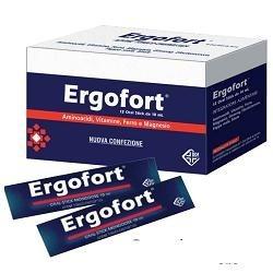 Ergofort 12 Stick Monodose - Integratore Ricostituente Energizzante