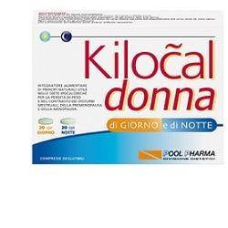 Kilocal Donna 40 Compresse - Integratore Per Dimagrire in Menopausa
