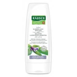 Rausch Balsamo Lucentezza Argentea alla Salvia per Capelli Bianchi e Grigi 200ml