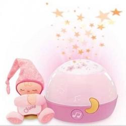 Chicco Goodnight Stars Rosa Proiettore Musicale per Bambini da 0 mesi