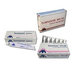 Turnover Recto gel lenitivo per la mucosa anale 6 flaconcini da 5 ml