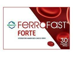 Ferrofast Forte integratore per carenza di ferro 30 capsule molli
