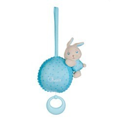 Chicco Carillon Soft Cuddles Azzurro Idea Regalo per Bambini da 0 Mesi