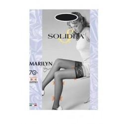 Marilyn calza autoreggente compressione graduata 70 den tg.2 NERO