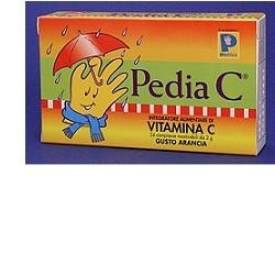 Pedia C vitamina C per bambini 24 compresse masticabili gusto arancia