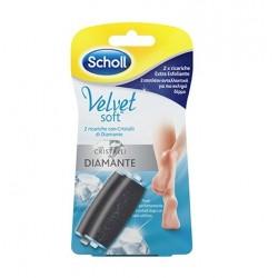 Dr Scholl's Velvet Soft Roll 2 Ricariche Extra Esfoliante