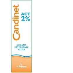 Candinet Act 2% Schiuma Detergente Intima 150ml