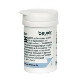 Beurer 25 strisce reattive per il test della glicemia con GL42/GL43