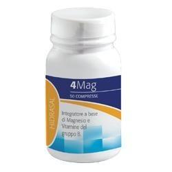 4MAG 50 Compresse - Integratore Alimentare di Magnesio